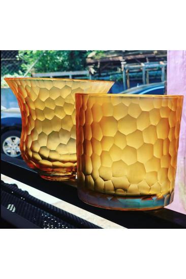 Luxury Pamkin Harvest Kesme Vazo (Hand Made)